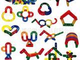 桌面玩具 益智儿童玩具 积木 幼儿园拼图塑料玩具