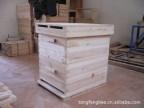 出口标准 蜂具批发 巢础 巢框 摇蜜机 凹凸无缝中蜂意蜂蜂箱