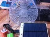 HH7856新奇特广告礼品USB模式插头清凉太阳能大风力风扇带充