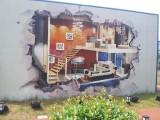 墻繪文化墻彩繪涂鴉手繪墻壁畫彩繪
