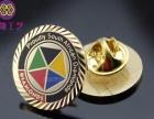 优质金属胸花定制 樱花胸章定做 奖牌奖章定制