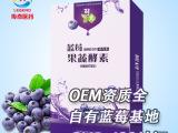 酵果蓝莓果蔬酵素粉剂正品保健食品OEM贴牌代加工保健品排毒批发