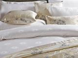 星级宾馆酒店布草客房床单被套枕套 3件套4件套 纯棉提花 定制