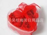 心型(12朵装)盒装皂片直销 小商品批发