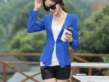 韩版女装女士女式韩国外套 小西装女 韩版新款修身小西装 小西服