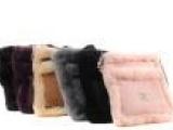 厂家批发斜挎包ugg皮毛一体单肩包小包澳洲时尚真皮女包代发货