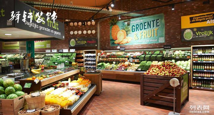 合肥大小超市装修,驿轩装饰助您财源滚滚来