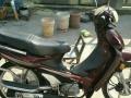 银刚摩托车,9千多公里,实数。前轮碟刹。车况好。