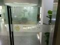天津市玻璃贴膜,磨砂膜,logo背景墙广告喷绘