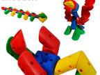 儿童玩具礼盒旋变积木益智早教拼插拼装玩具幼儿园批发