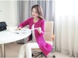 2014秋装新款毛衣女韩版宽松中长款加毛衣外套女秋冬针织衫开衫