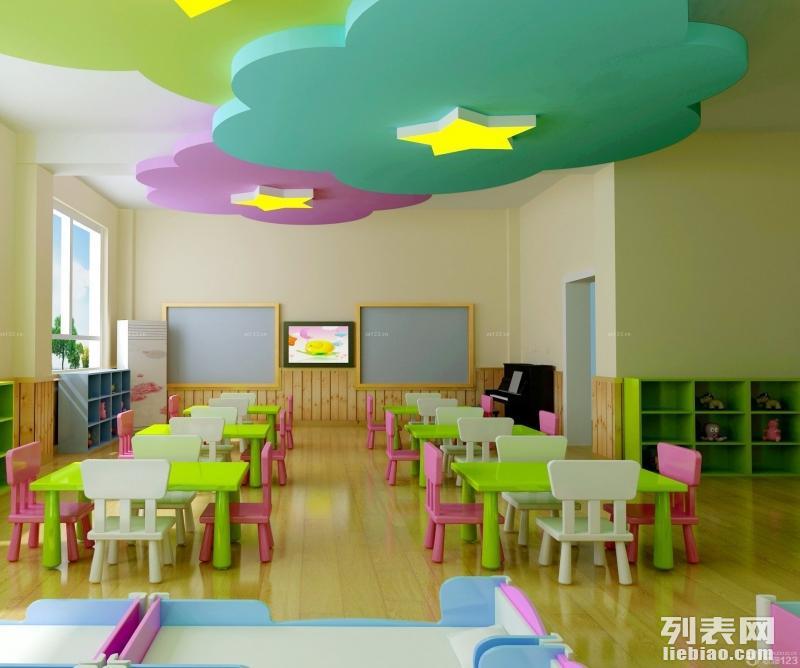 湛江幼儿园装修 办公室 店铺 家装 商场设计装修