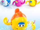 汇乐泓智洗澡玩具 酷游小乌龟 戏水小鱼儿 卡通上链戏水玩具 52