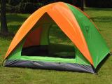 批发正品盛源户外双人双层双门帐篷 野营2人帐篷 天幕
