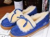 UGG皮毛一体雪地靴正品 UGG女士雪地