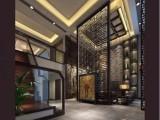 佛山金筑达中式镂空不锈钢屏风 现代简约不锈钢花格屏风