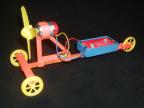 F1空气桨电动赛车 DIY拼装 空气动力车 学生比赛 益智模型玩具