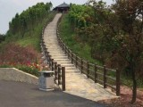 深圳 东记 水泥仿木栏杆