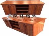 供应铝合金型材 家具 橱柜 全铝橱柜门板 全屋铝合金家居材料