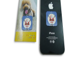 pu胶材质手机擦 迷你手机清洁贴 N次贴 可水洗 擦拭各种屏幕
