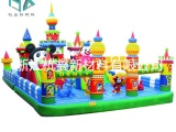充气城堡,气模布,淘气堡儿童城堡游乐园布,出口环保6p蹦蹦床