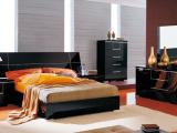 橡木咖啡色床,简约现代家具,贸易公司原单卧室家具,定制家具