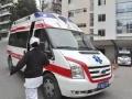 拉萨市私人救护车出租急救车接送转运病人出院转院回家服务中心