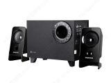 金河田音箱 H301青春版 多媒体有源2.1低音炮 台式笔记本音