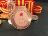 西安纯银纪念币玄色 起订量10枚 西安超大纪念币定做