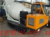 自动混凝土商混搅拌车 全自动滚筒式混凝土搅拌车