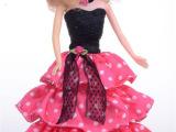 双语版喜之宝6299智能娃娃会说话女孩玩具对话芭比娃娃会走路音乐