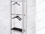 优质服装展示道具上墙架 专卖店服装展示上