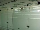办公室玻璃贴膜刻字喷绘门牌标示LOGO墙制作