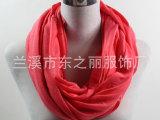 新款梅红汗布围脖外贸无缝保暖围巾沃尔玛订单加工厂家授权