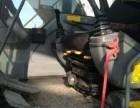 二手挖掘机干活车 沃尔沃210blc 机器无暗病!