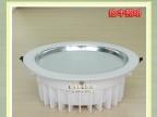 拾丰压铸筒灯外壳  白色一体化筒灯套件  LED筒灯配件 实力生产