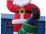 充气圣诞老人 卡通气模人 6m高可以订制大小规格