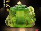 【原创】琉璃工艺礼品南瓜壶 领导赠礼客户