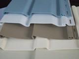 厂家直销新型塑料建材 pvc外墙挂板 厚度1.3mm
