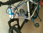 自行车,蓝色的没有什么破损