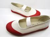 体操鞋 白色蓝色红色舞蹈鞋现货批发回力双星品质公主芭蕾舞鞋