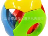 婴儿益智五彩感官铃铛手抓球 6-12个月宝宝认知玩具 培养抓握能