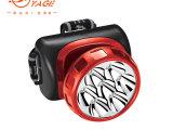 雅格YG-3584 充电头灯 7个LED应急照明灯 强弱光可调