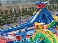 儿童乐园充气城堡水滑梯蹦蹦床 鲸鱼岛水上冲关支架水池蹦极攀岩