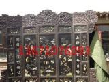 花开富贵屏风丨红木牡丹屏风丨北京折叠屏风
