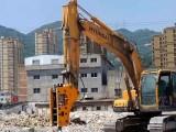 南昌挖机出租,215型挖机炮机出租带破碎锤
