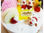 安徽品滋味食品休闲食品 1.5p水果巧克力蛋糕  生日蛋糕