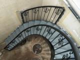 北京旋转楼梯护栏安装室内螺旋楼梯消防楼梯户外弧形楼梯钢梯