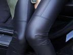 包退换东大门韩版2014秋冬新款女装加绒加厚弹力仿皮打底裤长裤子