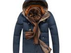 冬季新品 男士加厚羽绒服男装修身韩版时尚男式羽绒服冬装外套